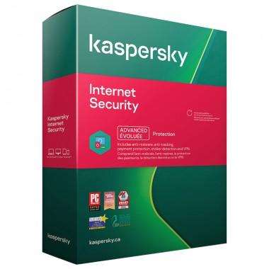 Kaspersky Internet Security 2021 5 PC / DispositivI - ESD - NUOVA REGOLARE, NO VOUCHER