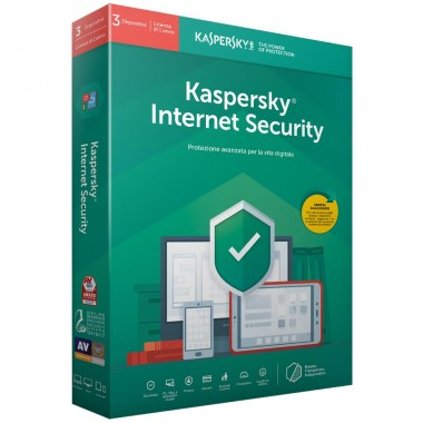 Kaspersky Internet Security 2019 5 PC / Dispositivi (PC,MAC,Android,iOS) - ESD