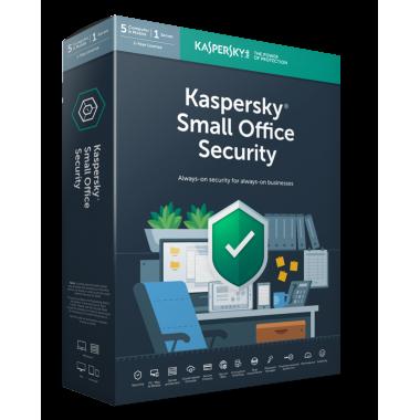 Kaspersky Small Office Security Versione 8 - 10 dispositivi PC + 10 Dispositivi mobili + 1 Server 2021 - 2 ANNI - ESD NUOVA