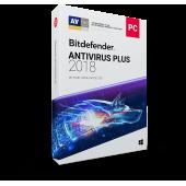 Bitdefender Antivirus Plus 2019 1 PC - ESD