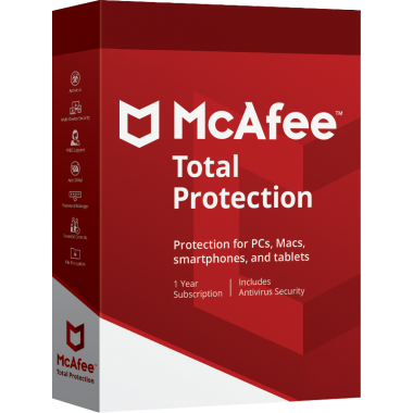 McAfee Total Protection 2021 5 MD (PC,MAC,Android) - ESD