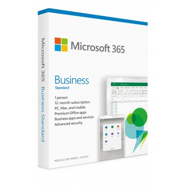 Office 365 Business Standard 1 User 5 PC- ESD
