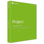 Microsoft Project Standard 2016 - Medialess
