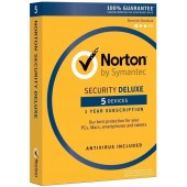Norton Security Deluxe 5 MD (PC,MAC,Android,IOS) - ESD - 3 ANNI