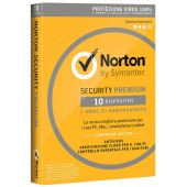 Norton Security Premium 10 MD (PC,MAC,Android,IOS) - ESD - 3 ANNI